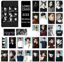 30pcs /set Super cute Kpop EXO all members Photo Picture Poster Lomo Cards