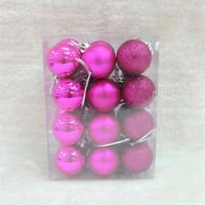 24 pcs New Year Christmas Baubles Ornament Ball Party Christmas Decor