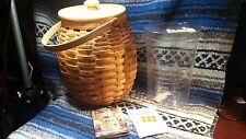 2000-Longaberger-October-Fields-Basket-Combo-Protector No Box
