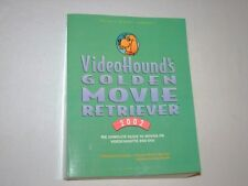 VideoHound Golden Movie Retriever 02 SoftCover Book Jim Craddock Complete Guide