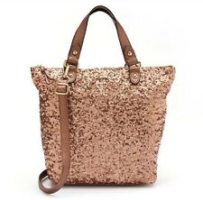New With Tag Juicy Couture Sport Mini Tote Rose Gold Sequin