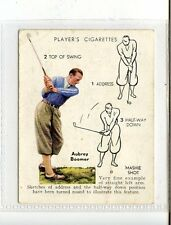 (Jc5669-100)  PLAYERS,GOLF,MASHIE SHOT,AUBREY BOOMER,1939,#4