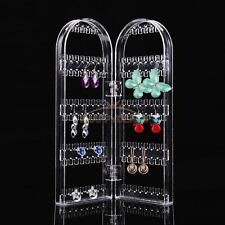 Clear Earrings Ear Studs Necklace Jewelry Display Rack Stand Organizer Holder #5