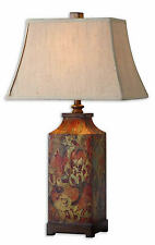"Colorful Flowers Multicolored Floral Print Table Lamp 32""H by Uttermost 27678"