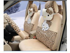 2015New Hello Kitty Car Seat Covers Accessories Set 18PCFree shipping