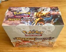 POKEMON  XY Break point Trading Cards Booster Box Set - 36 packs factory sealed!