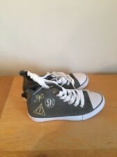 Harry Potter High Tops Primark Deathly Hallows Size 7 Ladies