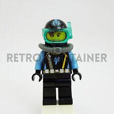 LEGO Minifigures - 1x aqu026 - Aquaraider - Omino Minifig Aquazone Set 7776