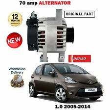 FOR TOYOTA AYGO 1.0i 2005--  NEW DENSO 70A ALTERNATOR ORIGINAL PART
