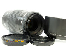 MINOLTA AF 75-300MM F4.5-5.6 D (32) ZOOM LENS FIT SONY ALPHA *NR MINT CONDITION*