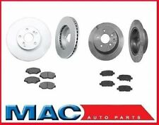 Front and Rear Disc Brake Rotors & Brake Pads for Nissan Maxima 2004-2008