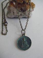 Spiritual Healing Buddha Necklace Awakened One Good Fortune Luck Wellness 18""