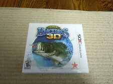 Super Black Bass 3D Nintendo 2DS 3DS Fishing Game Brand New Factory Sealed