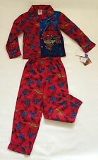 NWT Spider-Man 2 pc PJ Pajamas Sz 8 Sleepwear