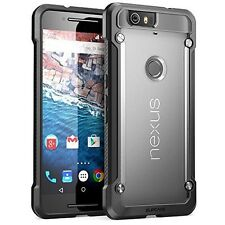New SUPCASE Slim Hybrid Protective Case Cover for Google Nexus 6P (Frost/Black)