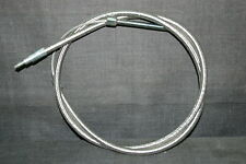 """HARLEY SPORTSTER BRAIDED CLUTCH CABLE 6"""" OVER STOCK XL 1971-85"""