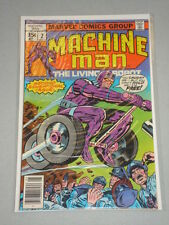 MACHINE MAN #2 VOL 1 MARVEL COMICS KIRBY ART MAY 1978