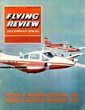 FLYING REVIEW INTL MAR 68 WW2 RUSSIAN Tu-2_CL-215_Ju87_AIR ARMAMENTS_NIGERIAN AF
