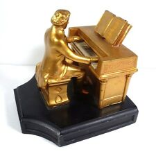 Antique 1932 J.B. Hirsch Beethoven at Piano Bookend