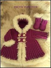 Little eskimo coat set knitting pattern