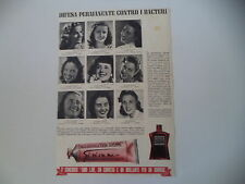 advertising Pubblicità 1941 DENTIFRICIO PASTA DENTIFRICIA ERBA GIVIEMME