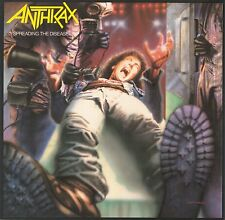 Anthrax Spreading The Disease CD NEW SEALED Metal