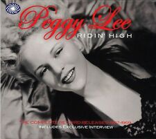 Peggy Lee Ridin' High Complete Record Releases 1957-1959 3-CD NEW SEALED