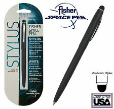 Fisher #M4 Series Black Space Pen with Conductive Stylus - #SM4BCT/S