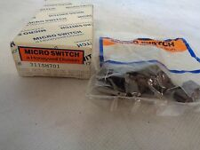 NEW BOX OF 8 HONEYWELL/MICRO 311SM701 SNAP ACTION SWITCH