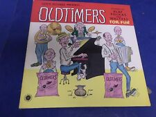 CZECH RECORDS PRESENTS OLDTIMERS,STEREO, POLKAS ANS WALTZES FOR FUN,33RPM,12""