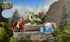 MINI WORLD MEDIEVAL TIMES DRAGON FIGURINES FANTASY ONCE UPON A TIME NEW