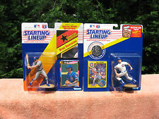 Lot of 2 Kenner Starting Lineup Ryne Sandberg 1991 Chicago Cubs Action Figure