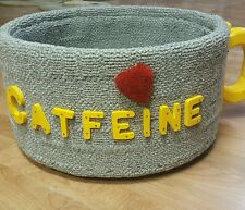 Cat Furniture Cats Bed Coffee Cup Design Handmade NEW USA Seller