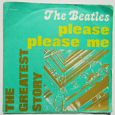 BEATLES ♫ PLEASE PLEASE ME / ASK ME WHY ♫  RARE 45 IMPORT WITH PICTURE SLEEVE