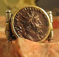 Ancient Authentic Roman  Emperor Victorinus Men's Ring