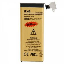 2680mAh 3.7V Replacement High-Capacity Gold Battery for iPhone 4S USA Shipping