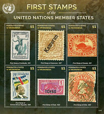 Micronesia 2015 MNH First Stamps UN United Nations Member States 6v M/S I