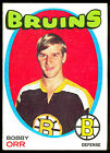 1971-72 TOPPS HOCKEY #100 BOBBY ORR EX+ BOSTON BRUINS CARD FREE SHIP TO USA
