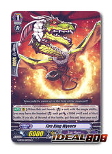 Cardfight Vanguard  x 4 Fire Ring Wyvern - G-BT05/087EN - C Mint