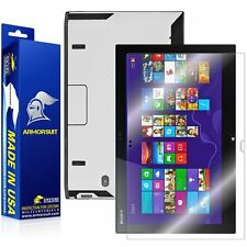 ArmorSuit Sony VAIO Duo 13 Convertible Ultrabook Screen Protector + White Carbon