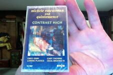 Michele Rosewoman & Quintessence- Contrast High- new/sealed cassette tape