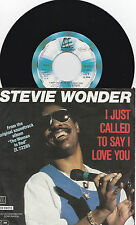 """STEVIE WONDER * I JUST CALLED TO SAY I LOVE YOU * GERMAN 7"""" ZB 69213 PLAYS GREAT"""