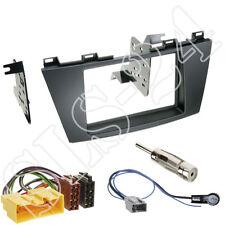 Mazda 5 CW ab10/2010 2-DIN Blende+ ISO Kabel Adapter+ Antenne Stecker Einbau-SET