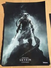 the elder scrolls V 5 skyrim special edition poster double sided bethesda 24X36