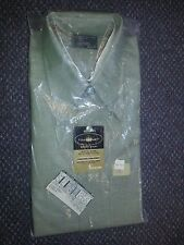1970s JC Penny's Towncraft medium sport shirt green unused NOS MOD ERA