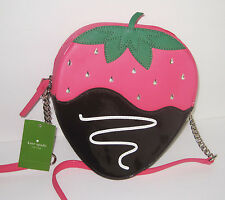 Kate Spade Crossbody Purse Bag Creme De La Creme Strawberry Kawaii NWT