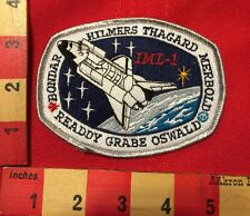 NASA PATCH ~ STS-42 SPACE SHUTTLE DISCOVERY Studied Microgravity IML-1