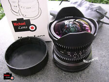 8mm F2.8 MF Fisheye Lens for SONY NEX E mount NEX-3 NEX-5 NEX-6 7 A5100 A6000