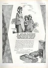 ▬► PUBLICITE ADVERTISING AD PARFUM PERFUME Lavande YARDLEY 1930