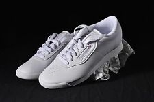 NIB Reebok Shoes Womens 8 White leather Princess Freestyle Sneaker Classic #1475